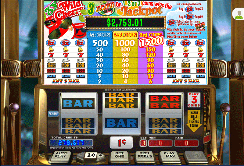 Play Wild Cherry Slots Online